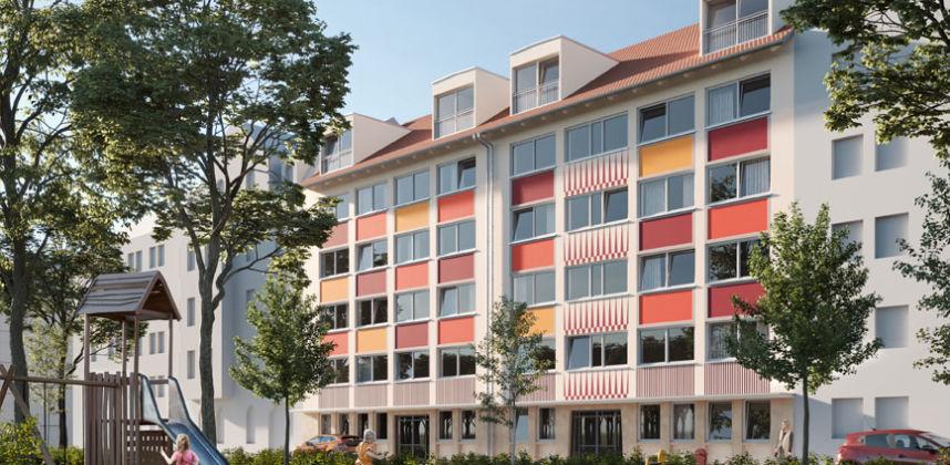 Nürnberg, Melanchthonplatz 4-6