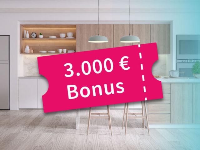 Sonderaktion: 3.000 Euro Bonus fürs Eigenheim am Kinoberg |Berger Gruppe Nürnberg
