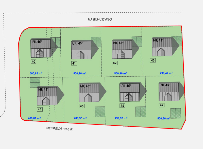 Baugrundstück Burgthann Nürnberg Plan |BERGER GRUPPE
