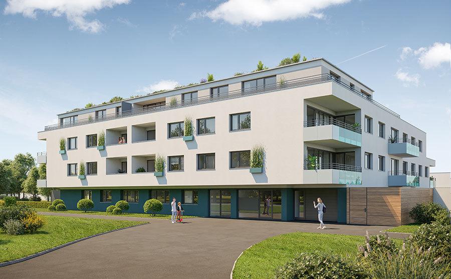 Neubauprojekt Gleiwitzer Straße 310 in Nürnberg |Berger Gruppe