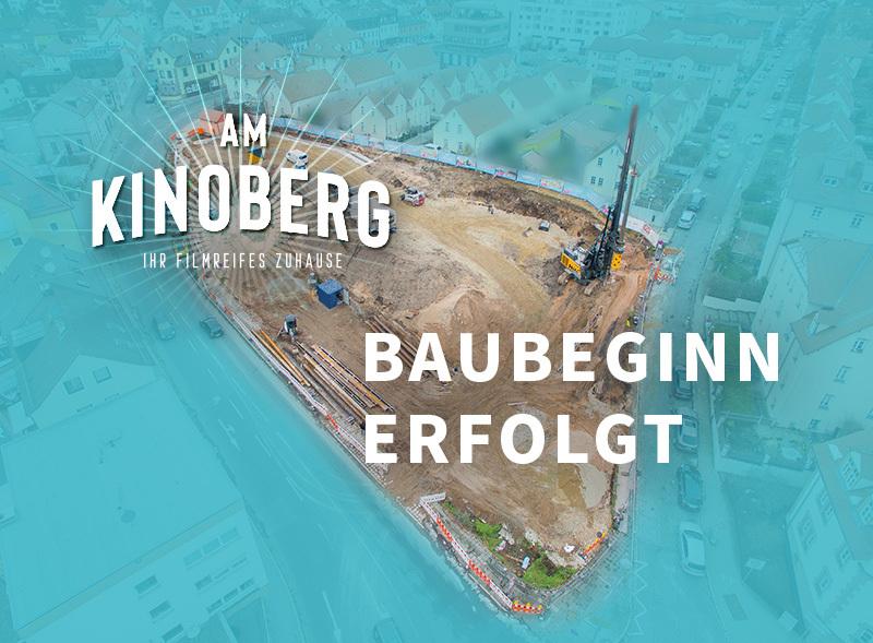 Baubeginn Am Kinoberg | Wohnungen Röthenbach | BERGER GRUPPE