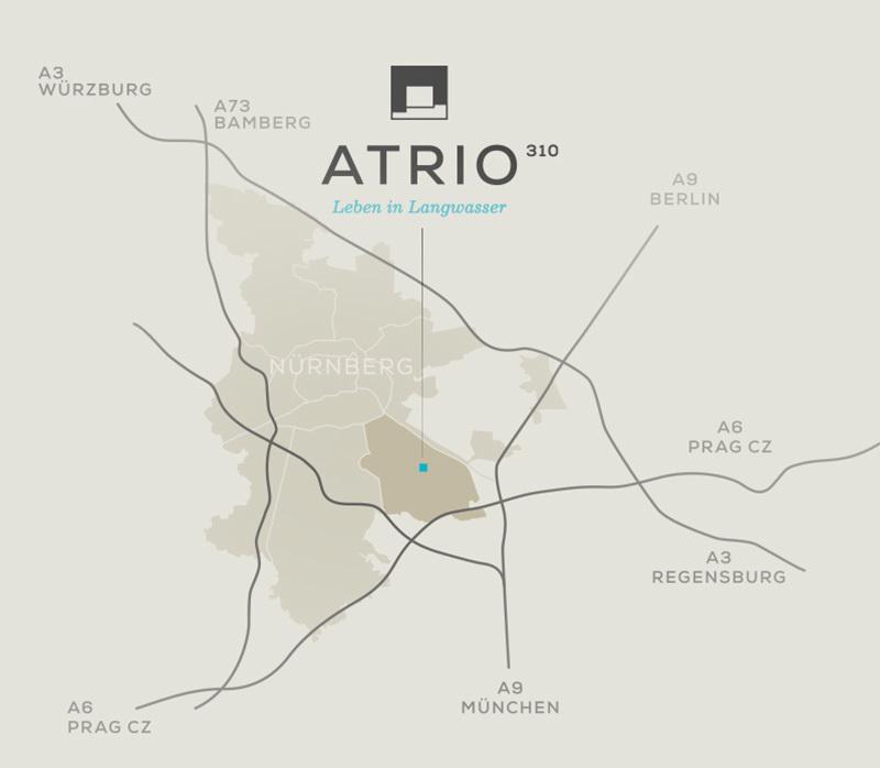 ATRIO 310 – Leben in Langwasser | BERGER GRUPPE