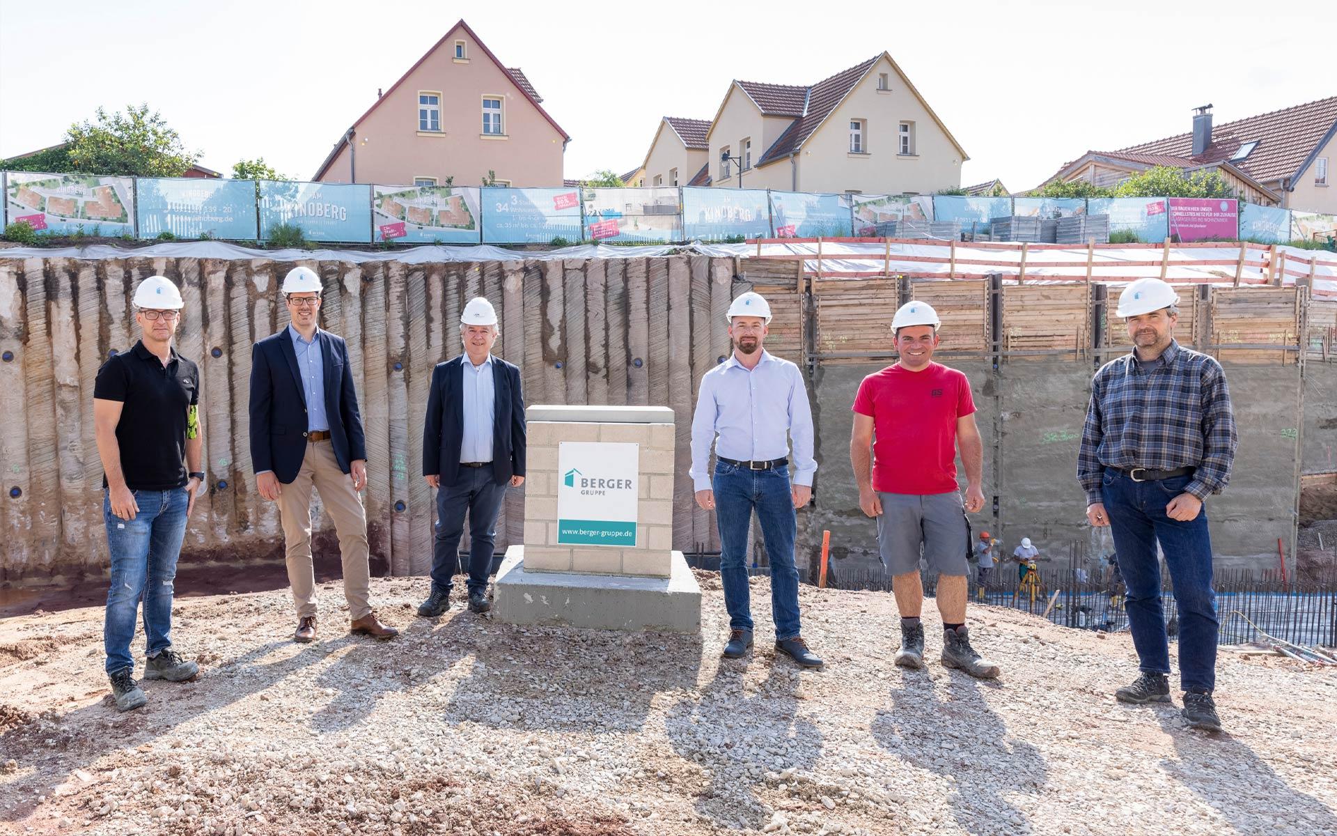 Grundsteinlegung für das Projekt »Am Kinoberg« erfolgt | BERGER GRUPPE