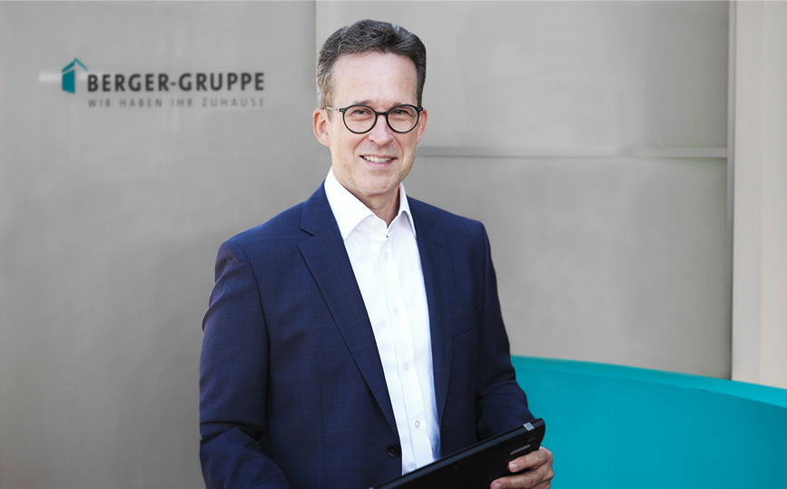 Portrait Jürgen Hausmann | BLS | Berger Gruppe Nürnberg