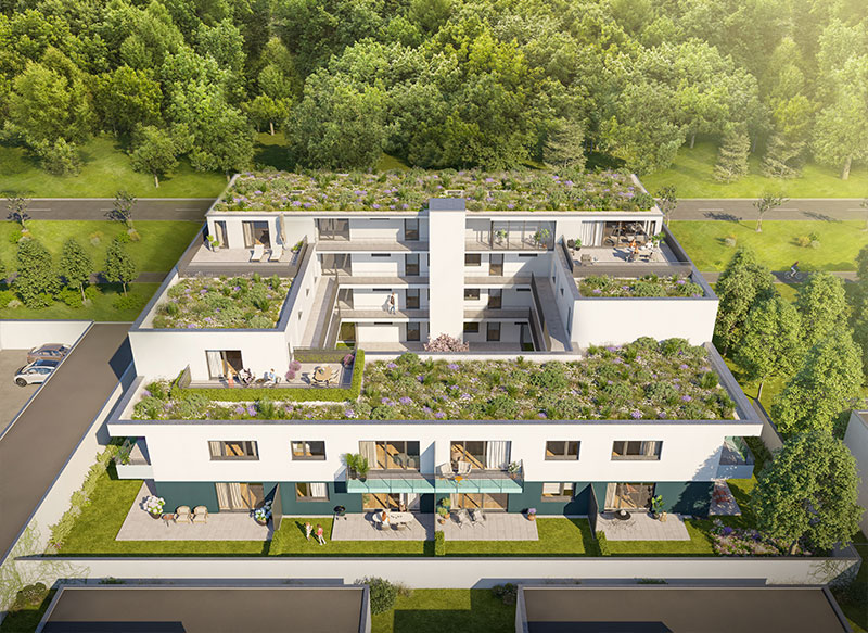 Baubeginn von ATRIO 310 – moderne Mietwohnungen in Nürnberg-Langwasser   BERGER Gruppe
